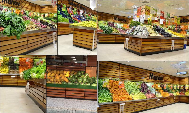 Market ve Mağazalar İçin Özel Tasarım Reyon Sistemleri