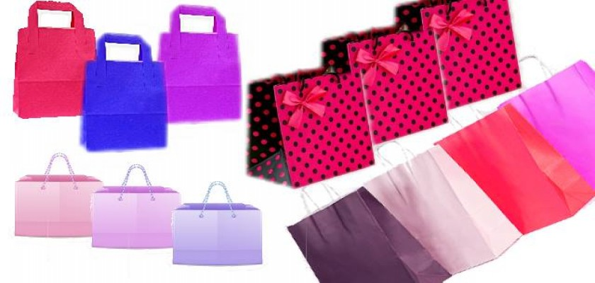 Kâğıt Poşet Tekstil, Parfümeri Ve Ayakkabı Sektöründe yaygın Olarak Kullanılıyor
