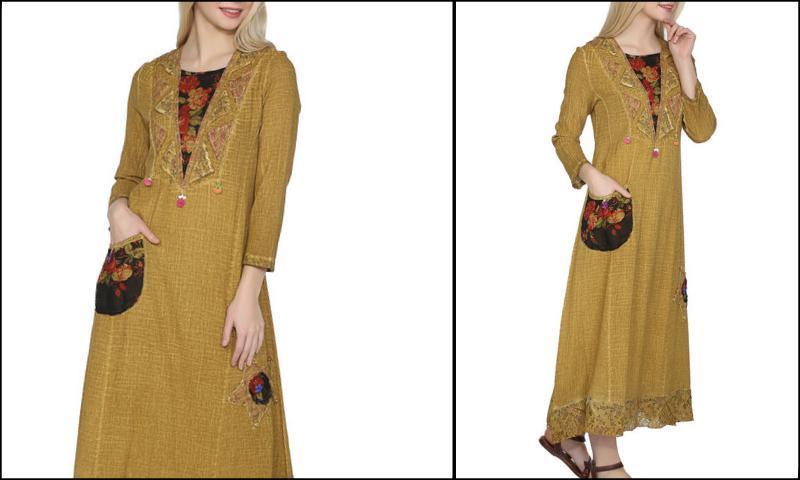 Bürümcük Şile Bezi Elbise Modelleri
