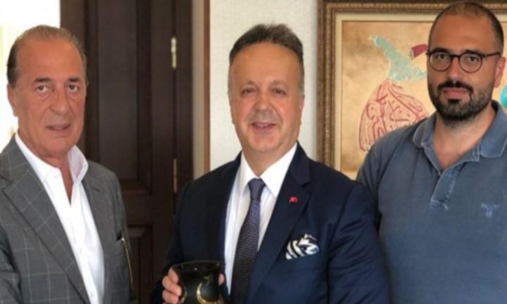 Aygün'den Türkiye İhracat Meclisi Başkanı Sayın İsmail Gülle'ye Ziyaret