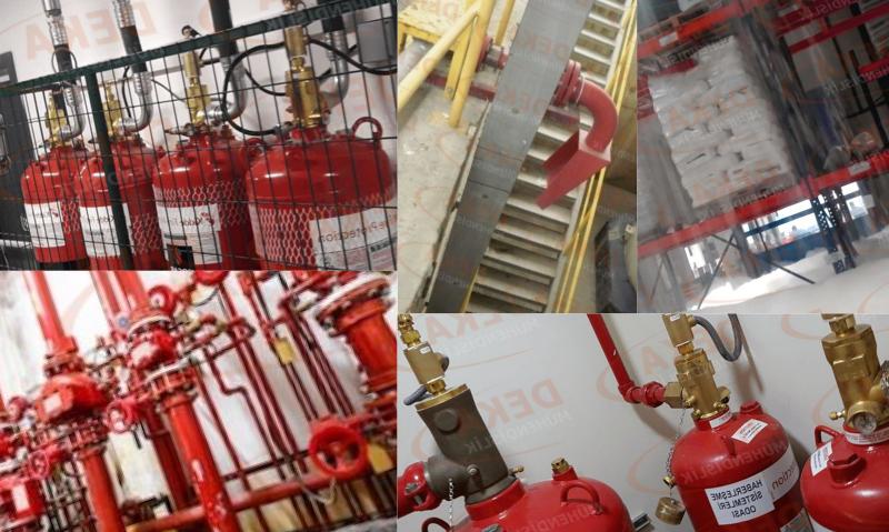Yangın Söndürme Sistemleri Çalışma Prensipleri