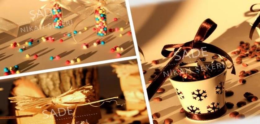 Modern ve Retro Nikah Şekeri Tasarımları Nelerdir