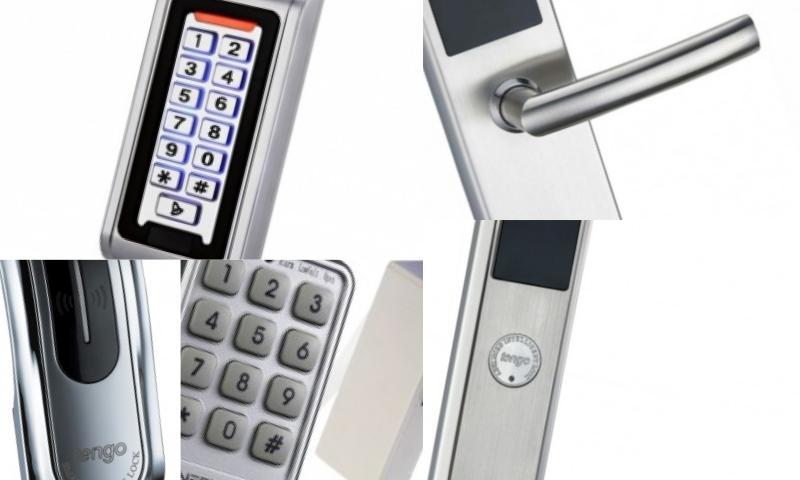Parmaz İzli Dokunmatik Elektronik Kapı Kilitleri