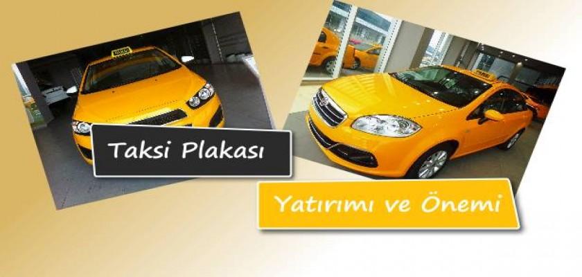 Taksi Plakası Yatırımı
